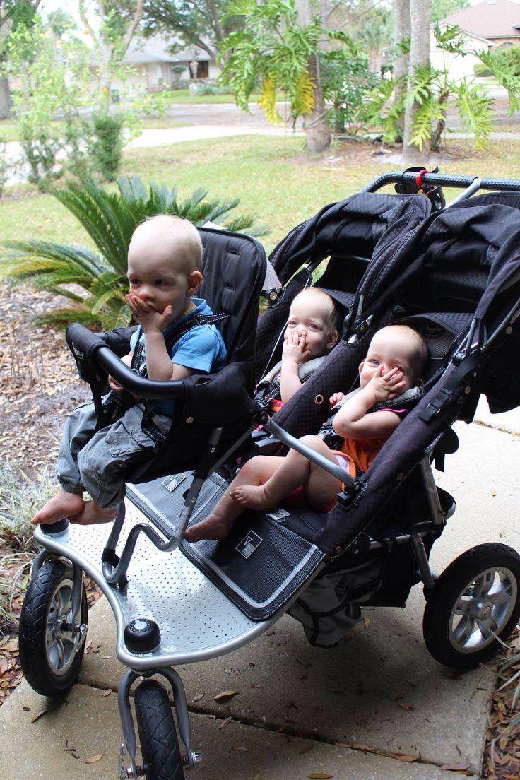 Triplet Stroller. Best baby strollers, Baby strollers