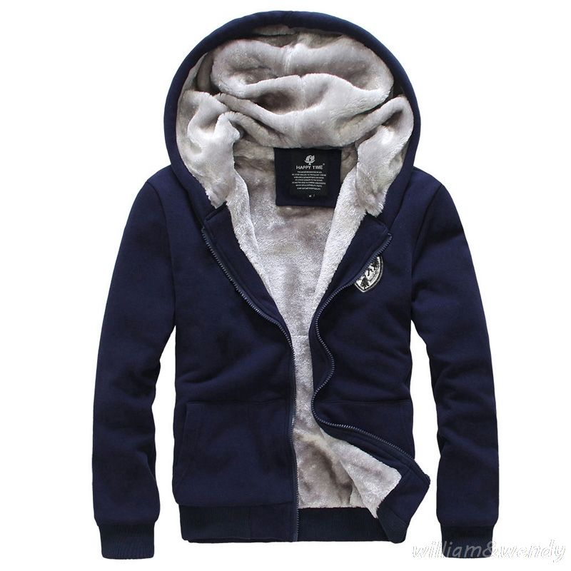 2017 Men Russian Large Size Parka Quilted Jacket Warm Cardigan ...