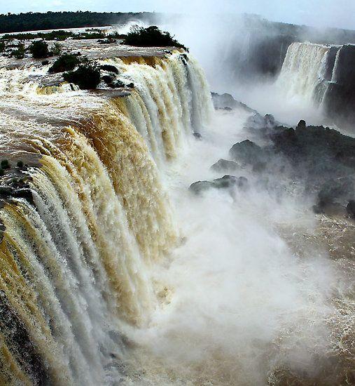Devil's Throat at Iguassu Falls, Brazil & Argentina
