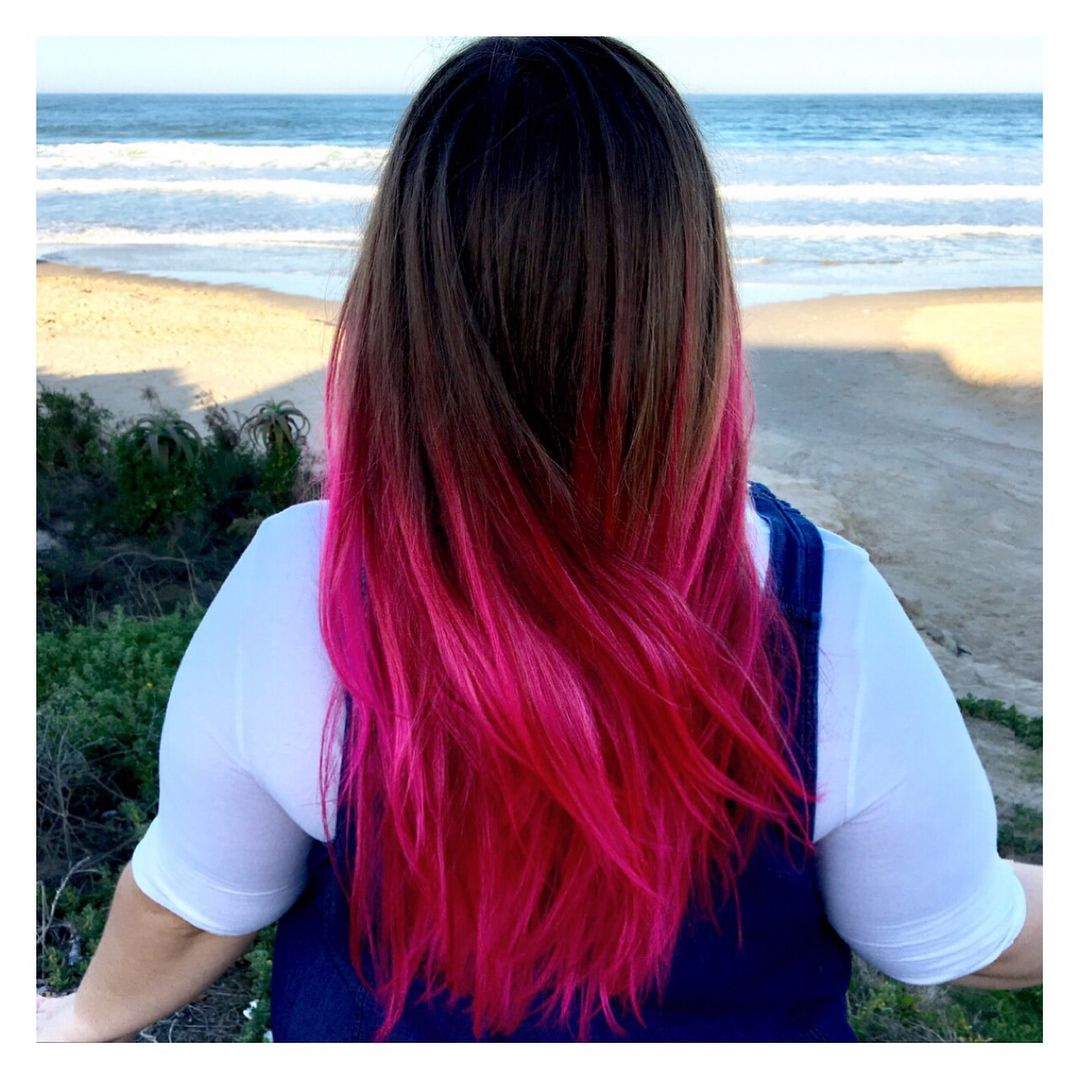 68 Likes 5 Comments Flair Flair Rsa On Instagram Dip It Low Girl Crepe Paper Dip Dye Tutorial Swipe Dyeing Tutorials Long Hair Styles Hair Styles
