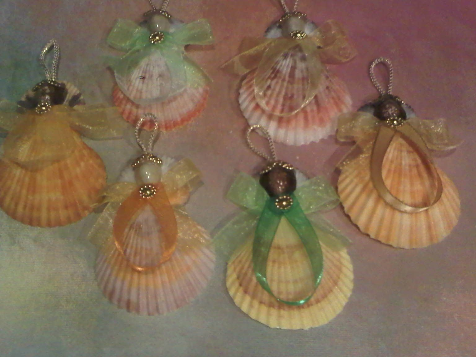 Craft Ideas For Adults To Sell Pecten Ribbon Angel