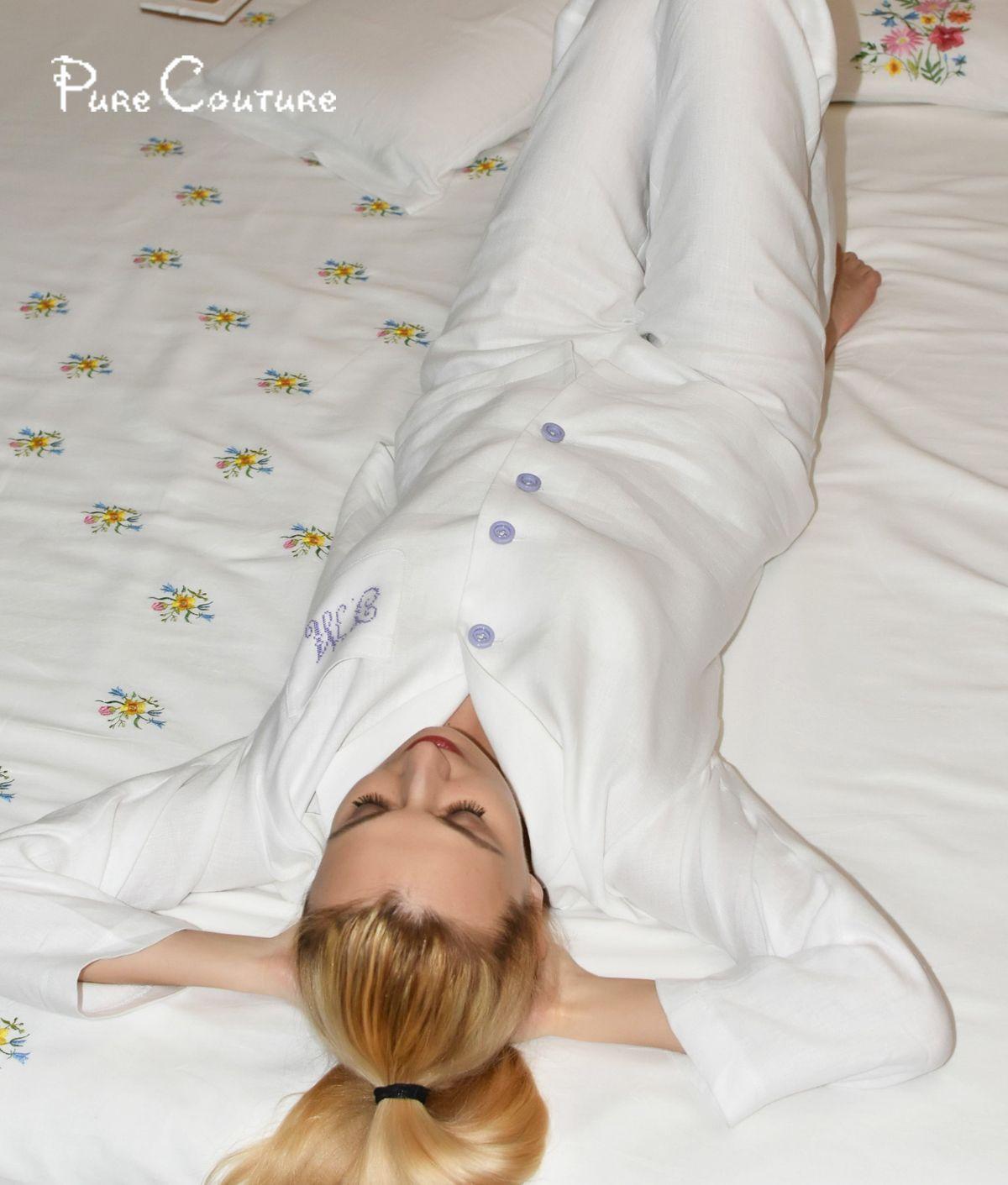 Mens Silk satin Pajamas Set Pajama Pyjamas Set PJS