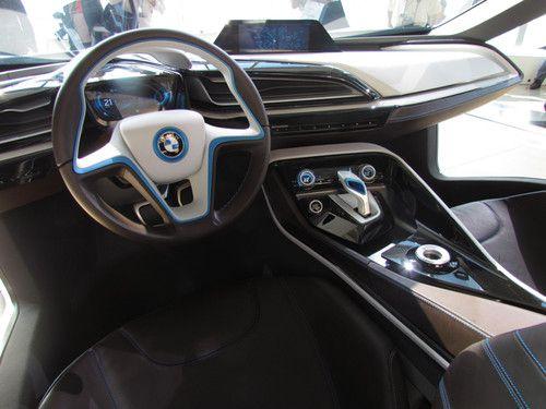 Bmw I Born Electric Tour Futuristic Car Interior New York