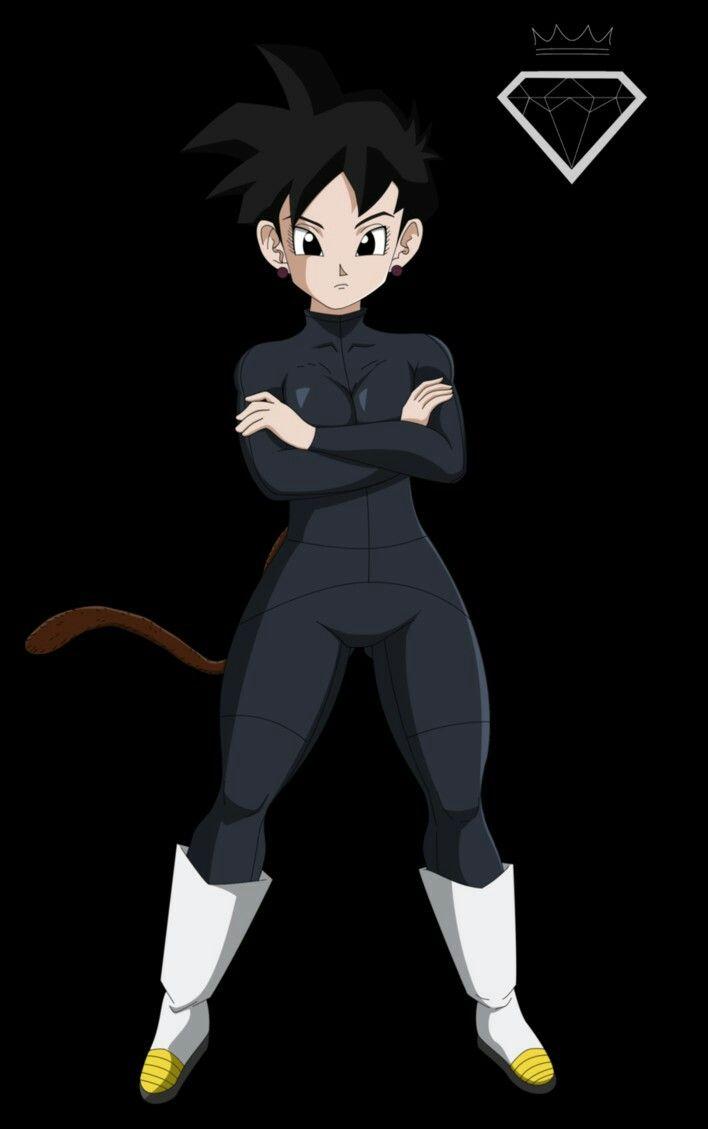 Okita(Saiyan Female Character) By:King Keno Arts | DBZ ...