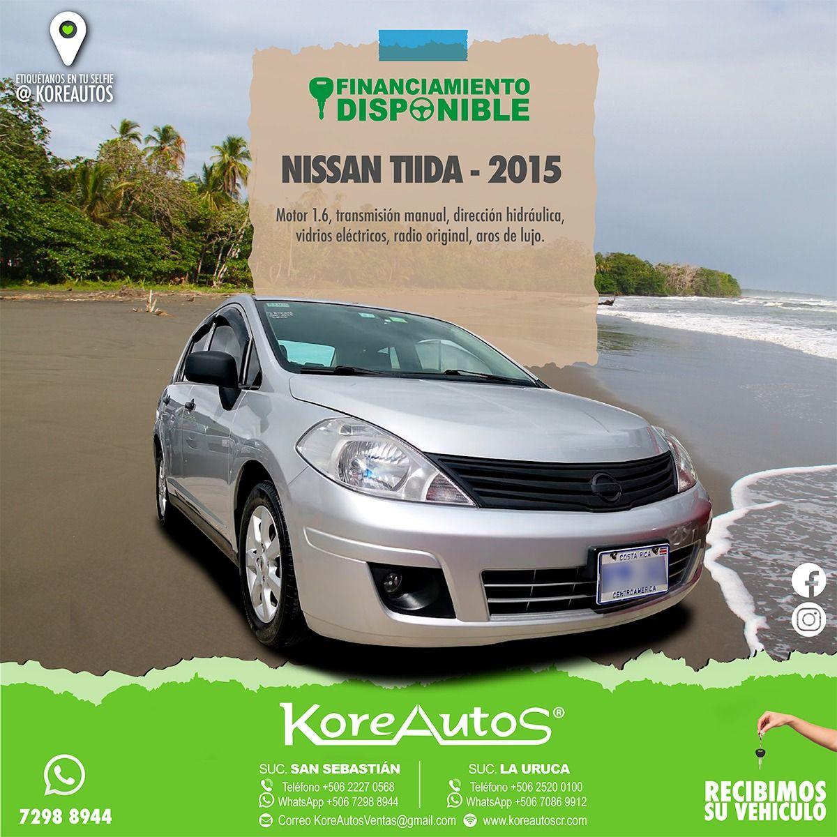 NISSAN TIIDA 2015 Nissan, Vehicles