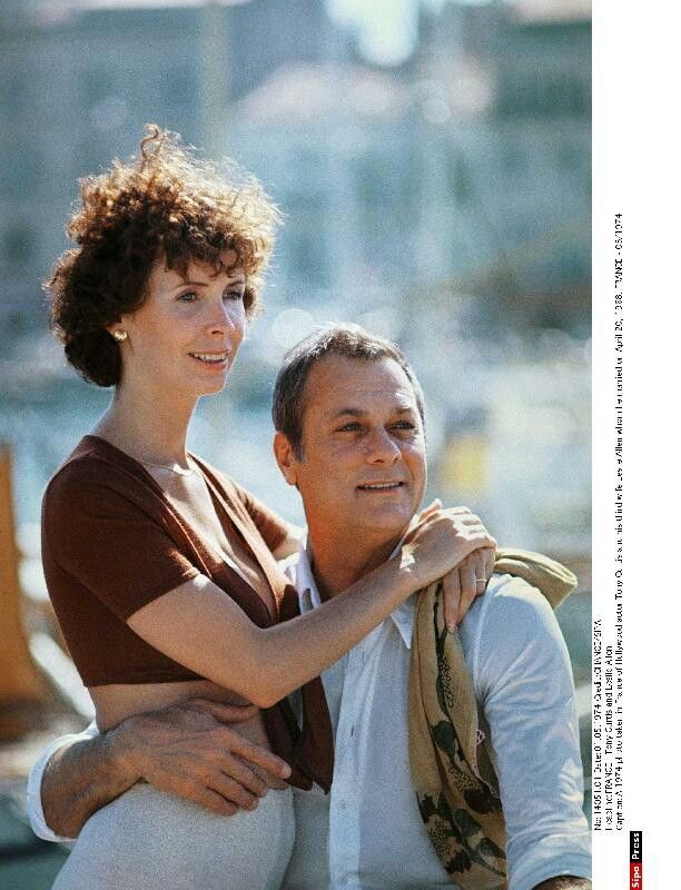 Tony Curtis And Wife Leslie Allen Ca Mid Late 70s Tony Curtis