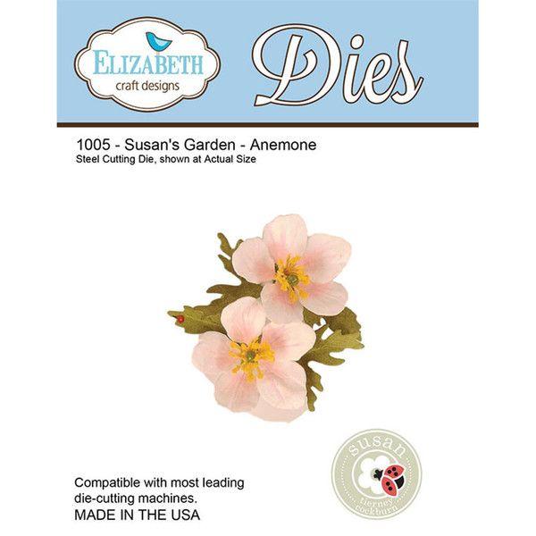 Susan S Garden Anemone Elizabeth Craft Design Pinterest