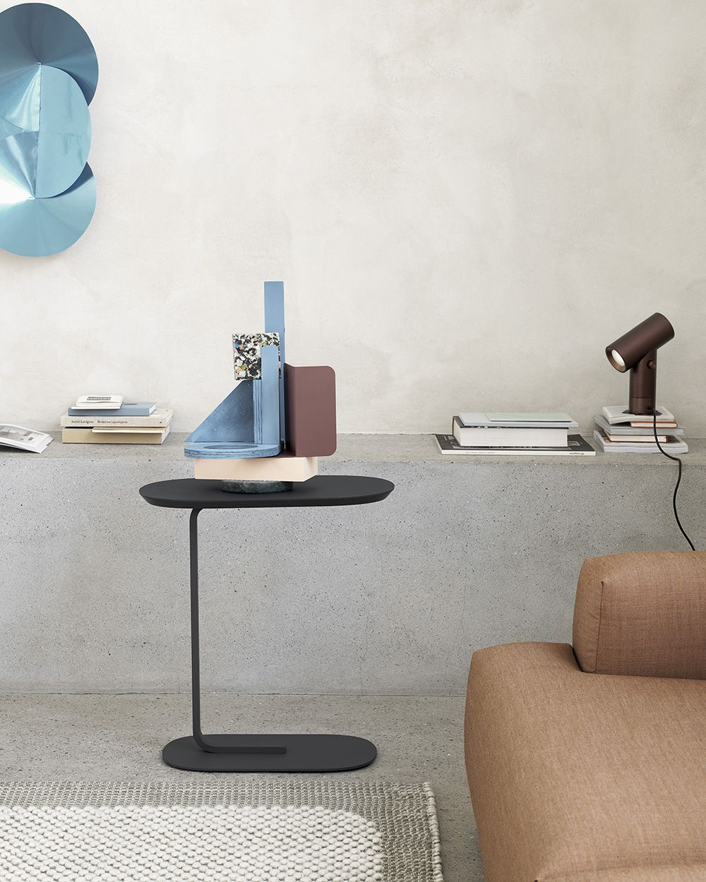 Timeless And Functional Scandinavian Storage Inspiration From Muuto An Elegant Side Table With Two Planes Connected Through A Graphic Leg For A Modern Express