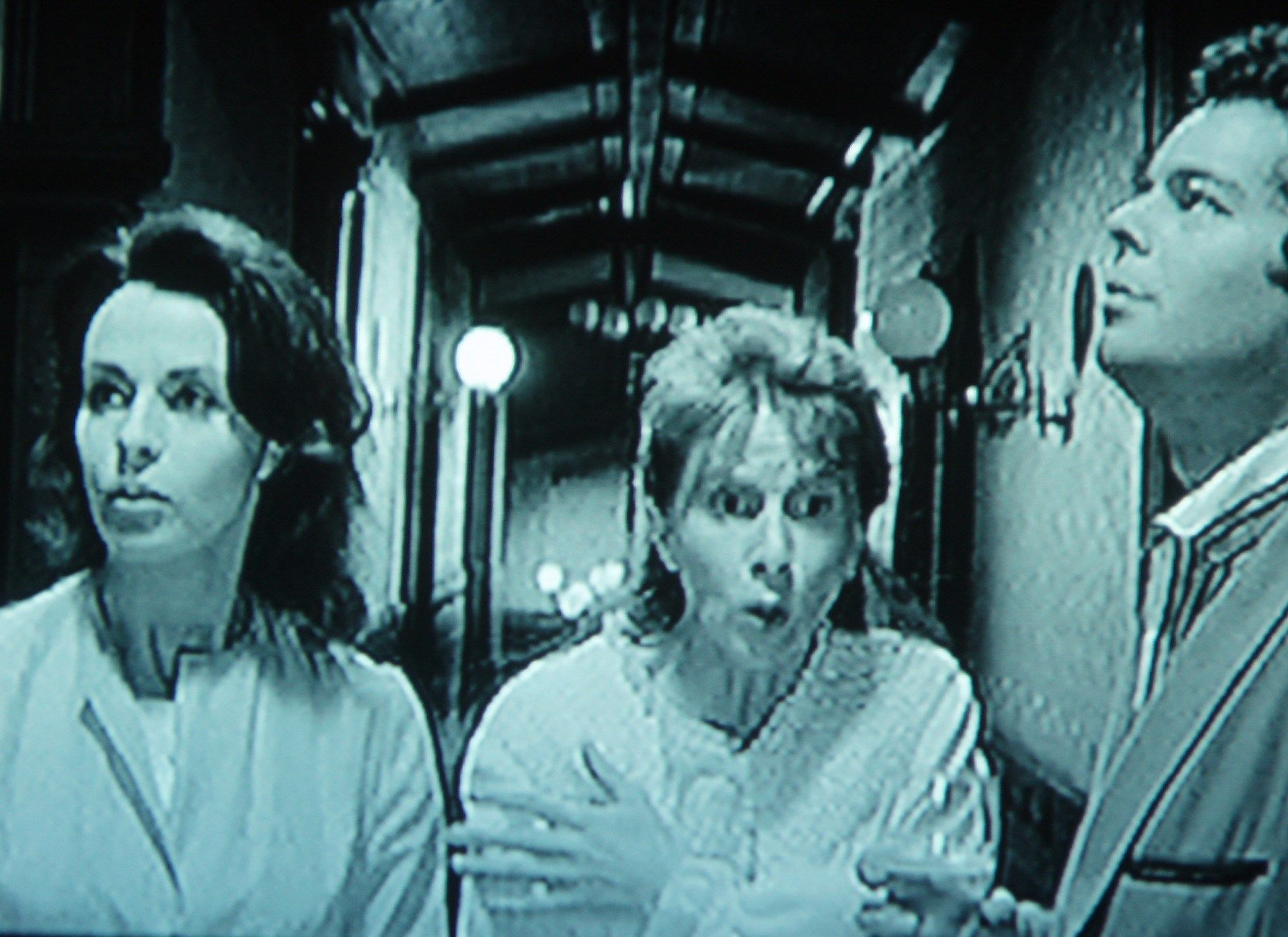 Theodora Eleanor And Luc Experience The Cold Spot Or Heart Of Hill House House On A Hill Julie Harris Claire Bloom