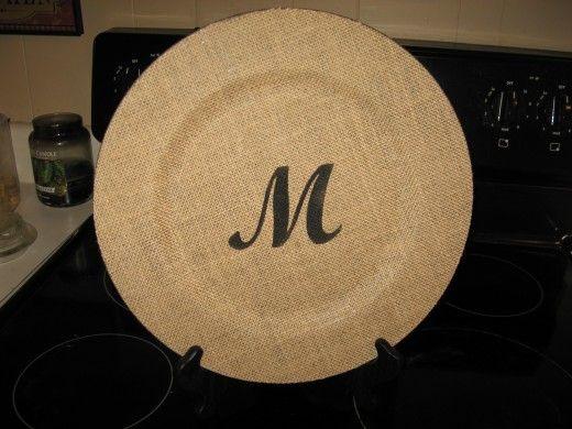 Burlap Ideas for Crafts | Craft stores, Burlap and Monograms