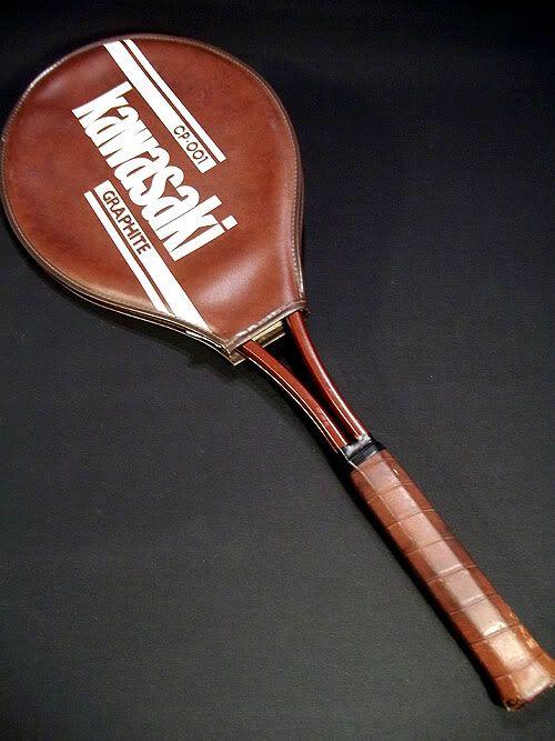 2ba9992dfc Sold Kawasaki CP-001 Graphite Tennis Racket RARE VINTAGE Made in Japan