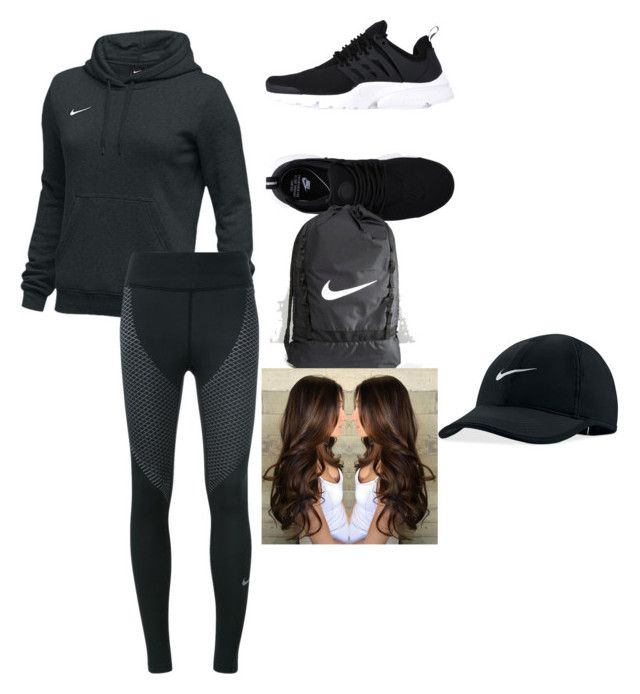 """School outfit"" by natalielaine77 on Polyvore featuring NIKE"
