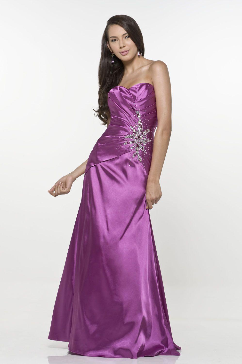 prom dresses mermaid/trumpet sweetheart floor length taffeta purple