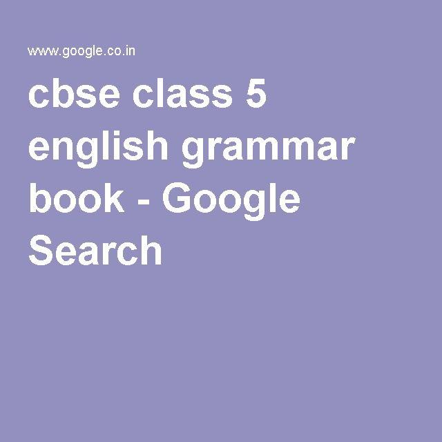 Class 5 English Grammar