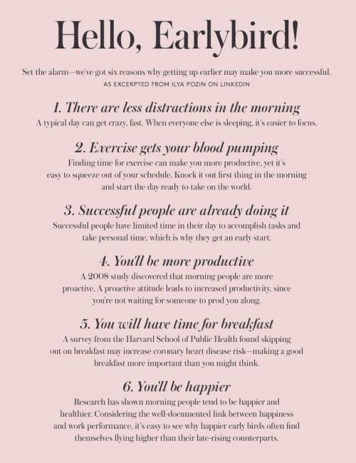 6 Steps to Happier, Sharper and Healthier Mornings