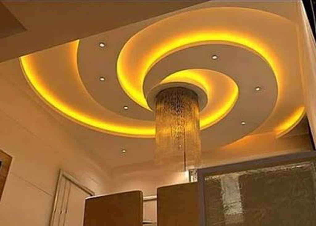 42 Fantastic Kitchen Ceiling Design Ideas | Pop false ...
