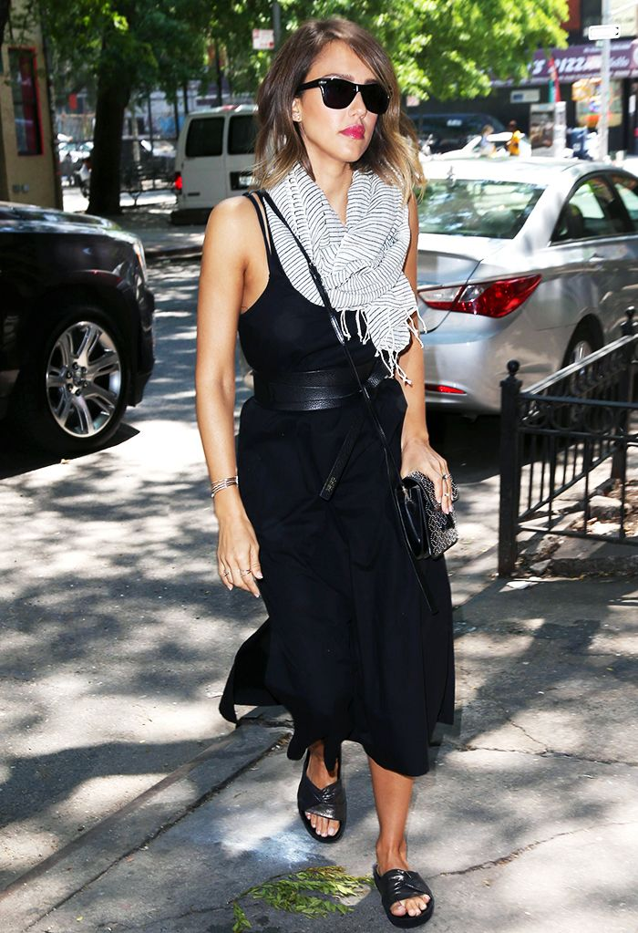 a5f232d21479ec 15 Celebrity Outfit Ideas Perfect for the End of Summer ...
