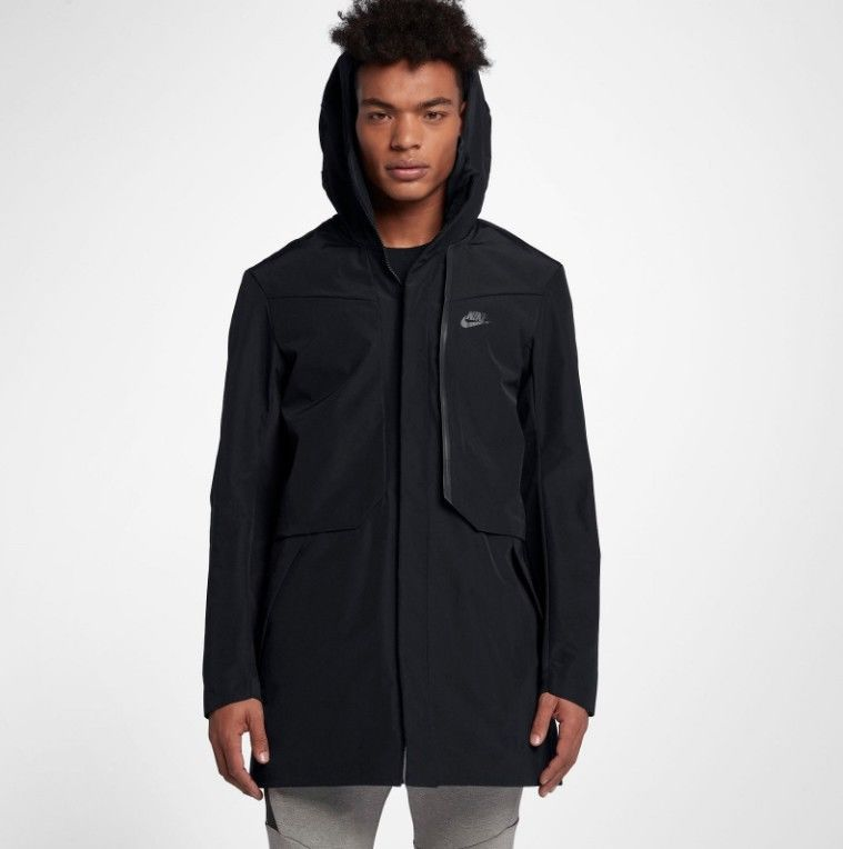 5f856f5d3cbe Nike Sportswear Tech Shield Hooded Jacket Coat Black 886162-355 L  fashion   clothing  shoes  accessories  mensclothing  coatsjackets (ebay link)
