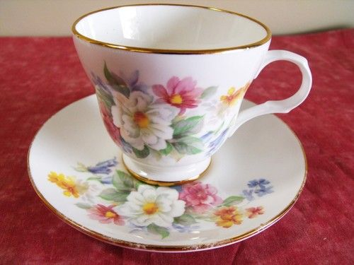 Crown Trent Fine Bone China Cup And Saucer Set Staffordshire England Cup And Saucer Set China Cups And Saucers Cup And Saucer