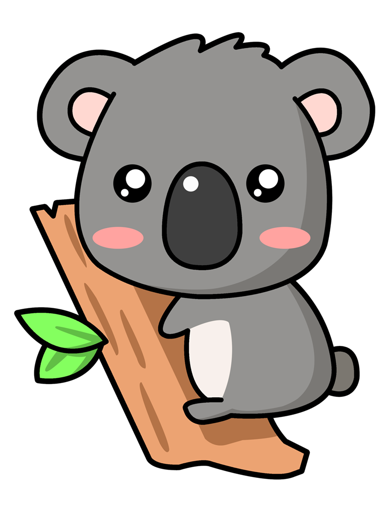 free to use public domain koala clip art cute pinterest rh pinterest co uk koala clipart free koala clipart cute