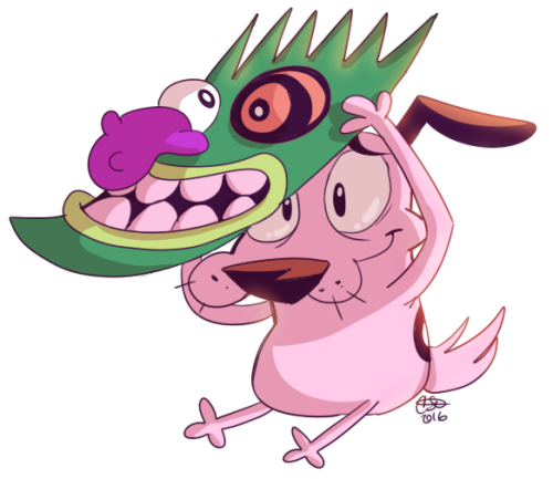 Courage The Cowardly Dog Old Cartoon Network Cartoon Shows