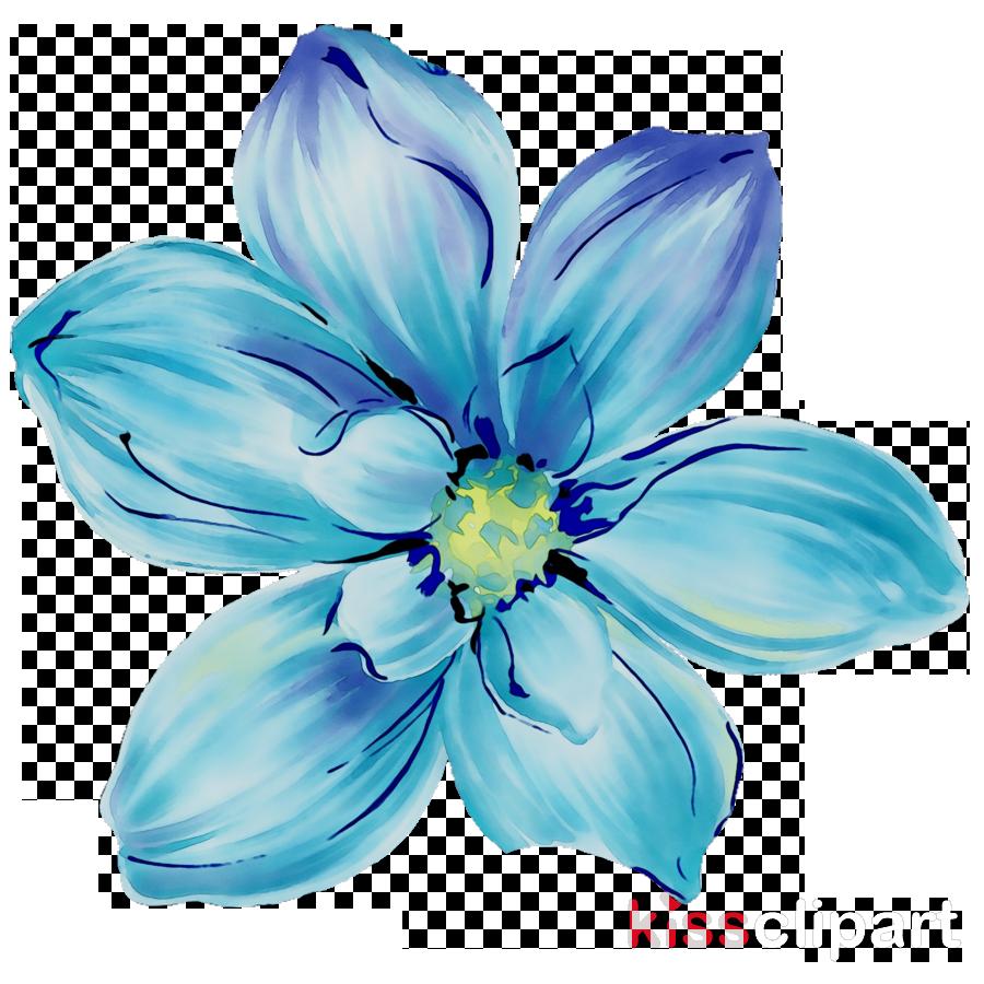 Pin By Khan On Flower Blue Flower Painting Metal Art Prints Watercolor Flowers