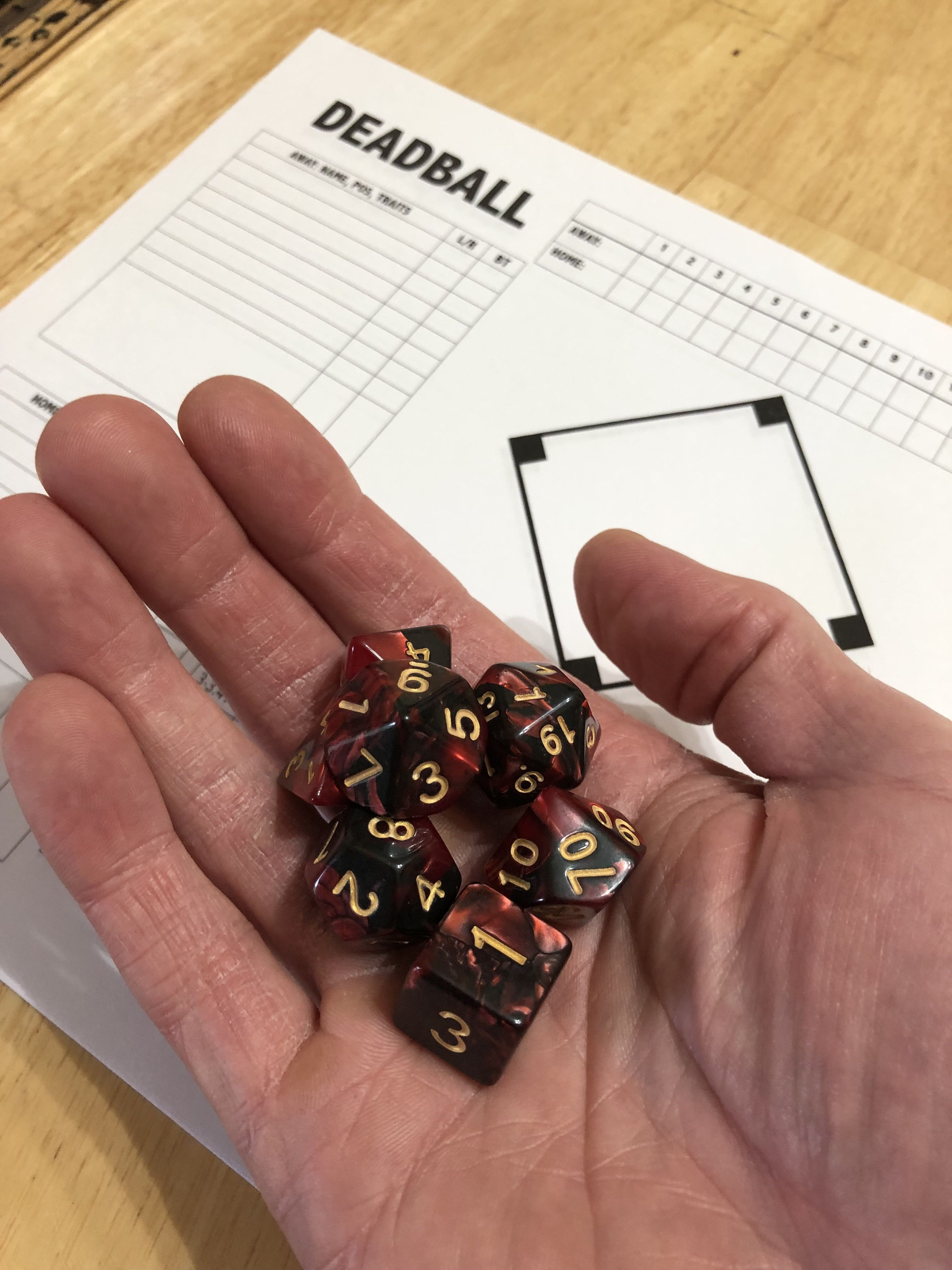 DAF new dice, just in time for an exciting new season of
