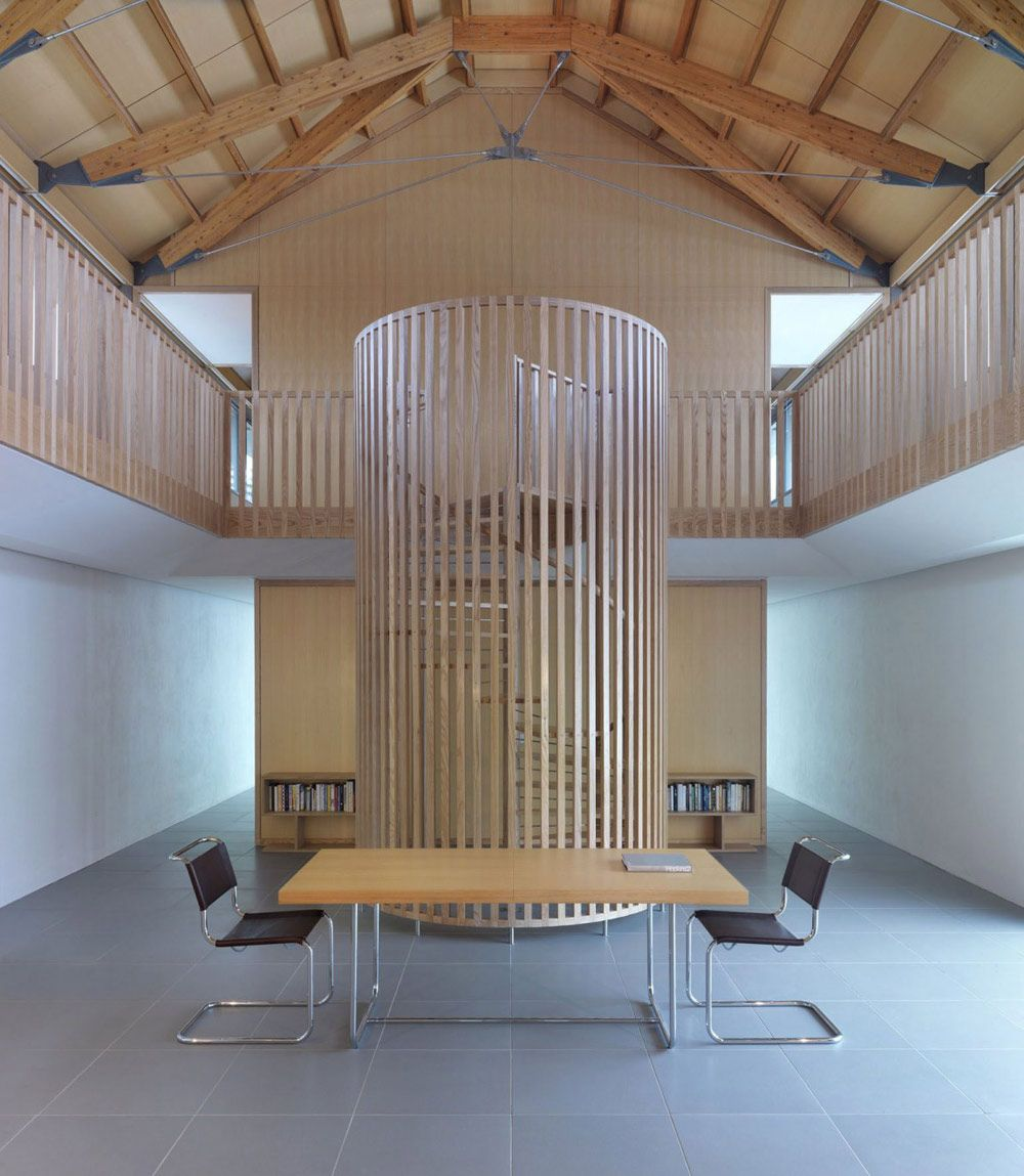 Charmant Spiral Staircase, The Long House By Hopkins Architects