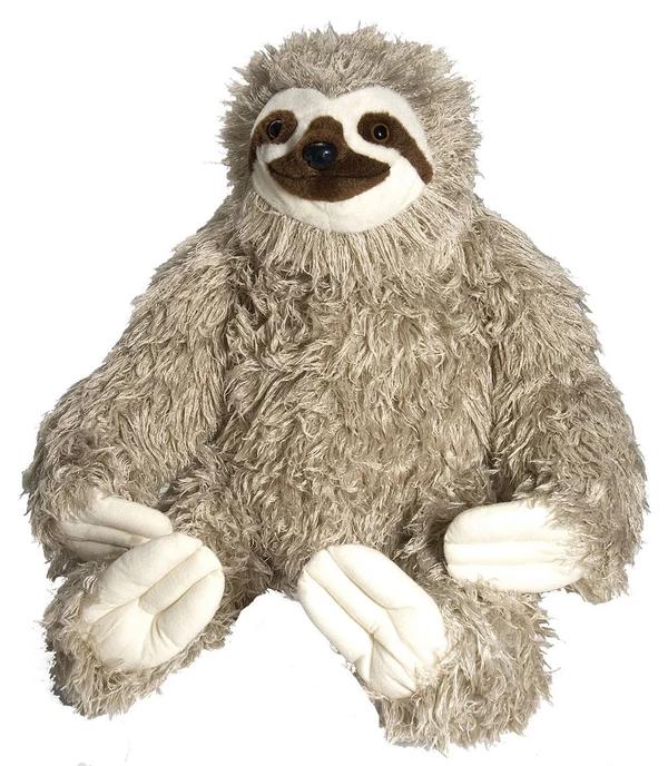 "Sloth Stuffed Animal 30"" Sloth stuffed animal, Giant"