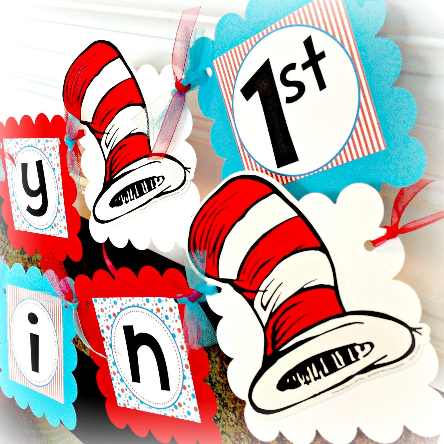 PARTY PACK Special - Dr. Suess Seuss Cat in Hat Inspired Happy ...