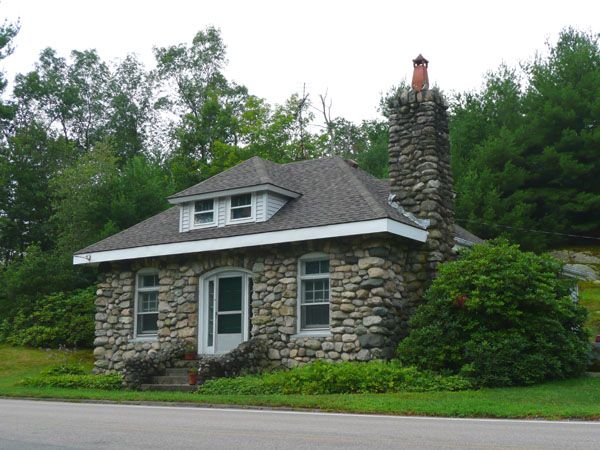 Pin By Jonathan Abercrombie On Bigger Isn T Always Better Stone House House Blueprints Cottage