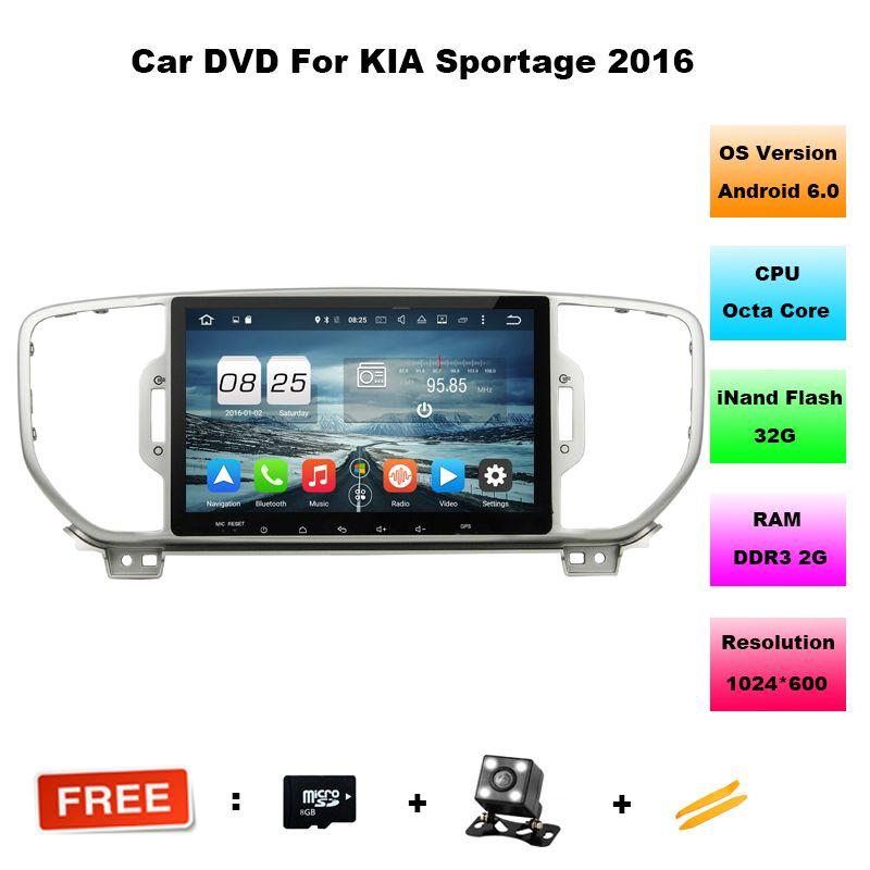 2g 32g Mutilmedia Android 6 0 Car Dvd Player Gps Dvd For Kia