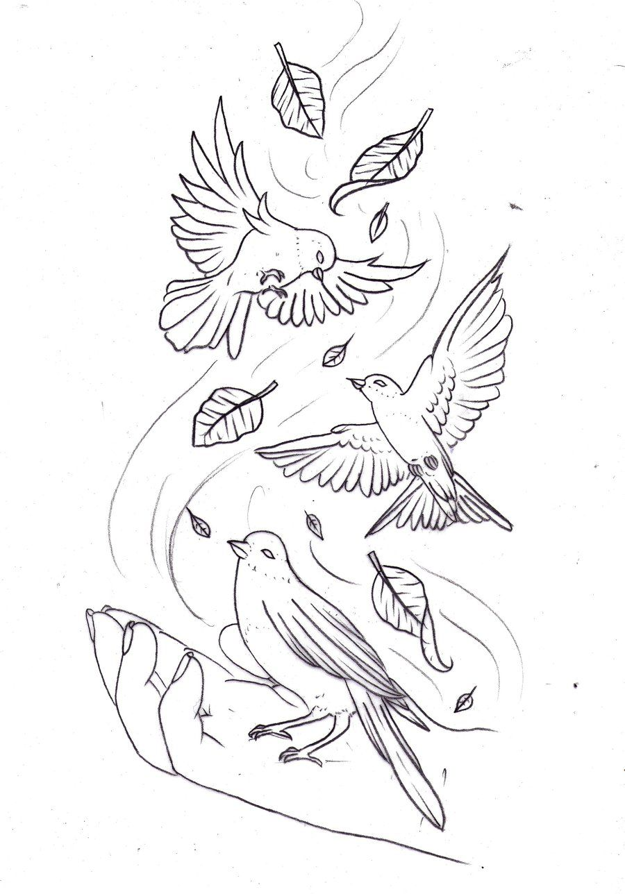 Release sketch by Nevermore-Ink @ deviantART