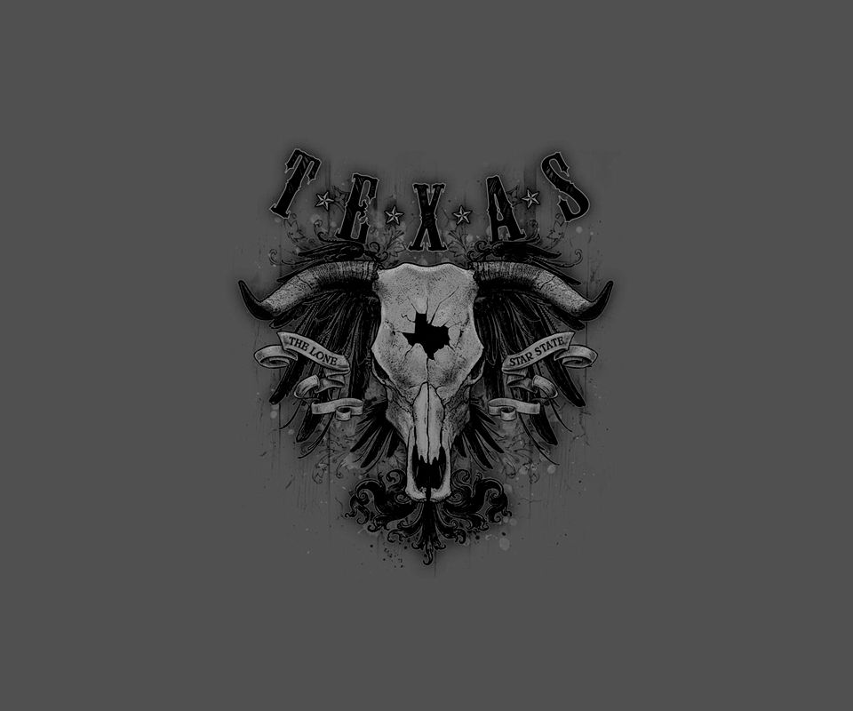 Texas Longhorn Skull Background For Your Android Phone Download Free