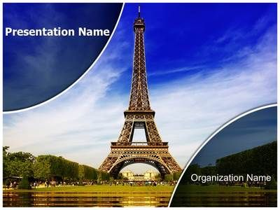 Paris Eiffel Tower Powerpoint Template Is One Of The Best Powerpoint