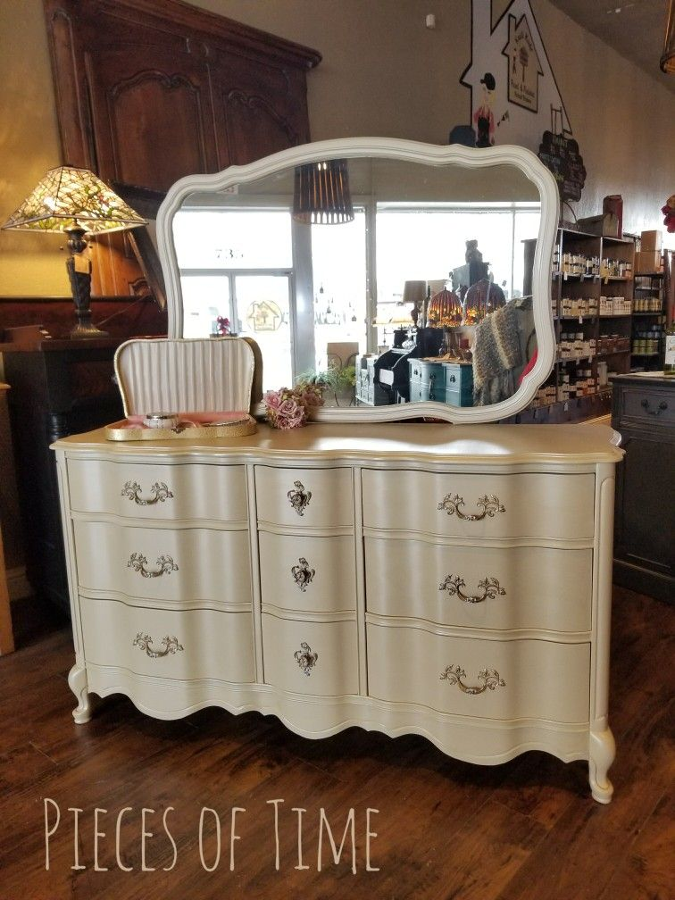 1960's Bassett French Provincial Dresser finished in