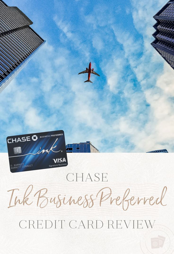 Chase ink business preferred credit card review travel