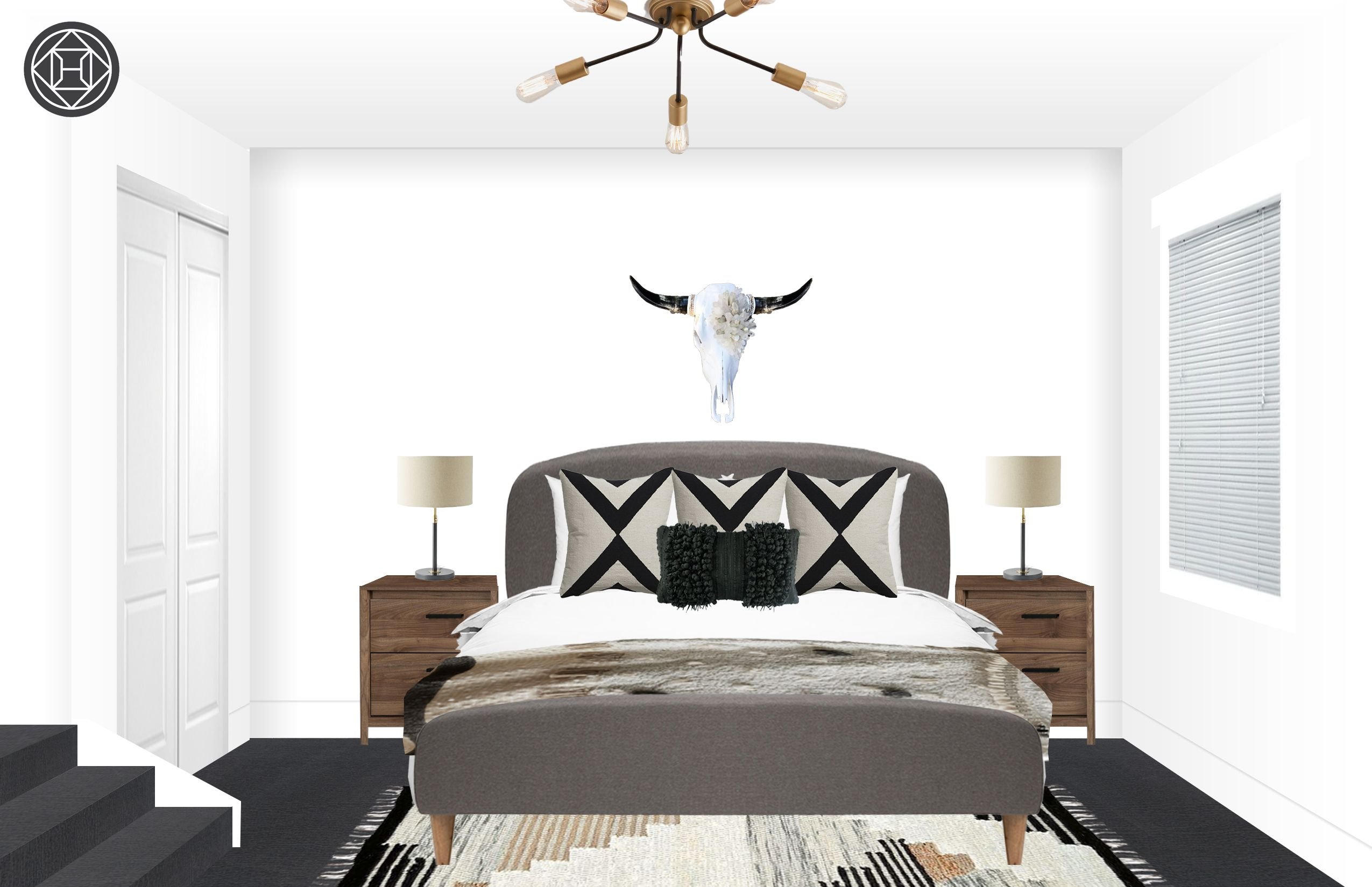 Best Bohemian Rustic Scandinavian Bedroom Design By Havenly 640 x 480