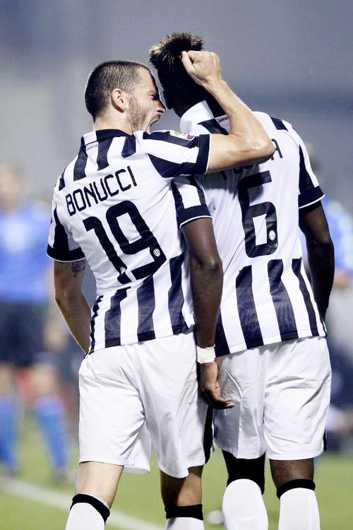 Sassuolo-Juventus Bonucci & Pogba