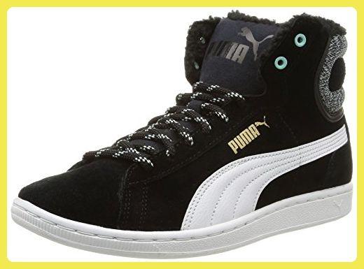 Puma  Damen Sneaker schwarz schwarz Noir 38.5 EU