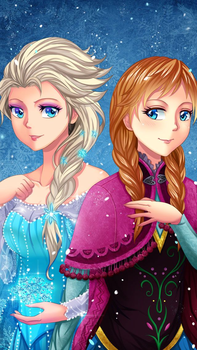 Frozen Elsa & Anna Digital Fan Art Wallpapers Frozen