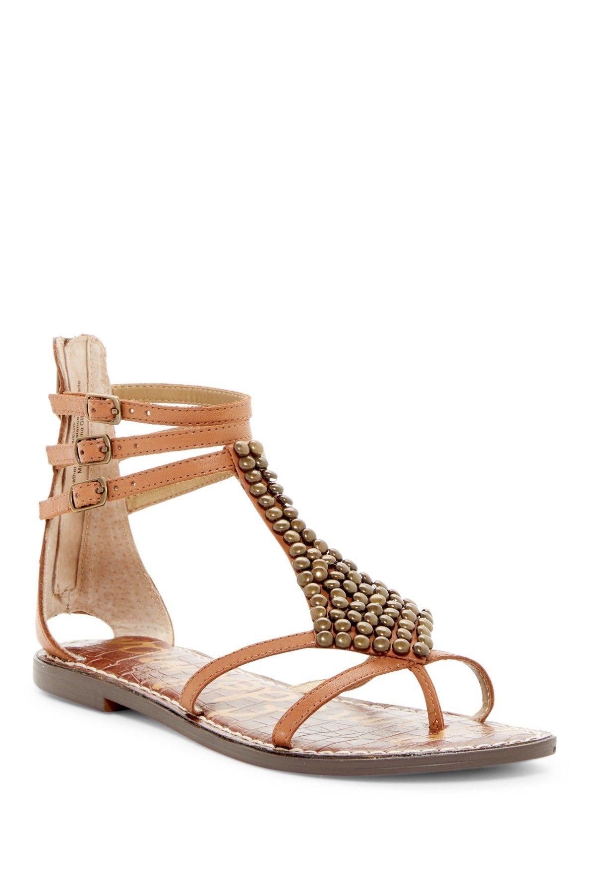 97833c7bf6b Ginger Beaded Gladiator Sandal by Sam Edelman on  nordstrom rack Gladiator  Sandals
