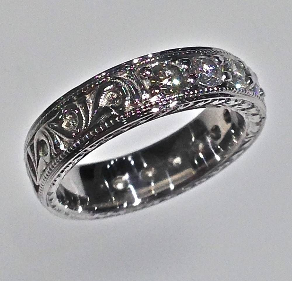 It is an image of 50 Besten Ideen Scottish Wedding Bands #Verlobungsringe Ring