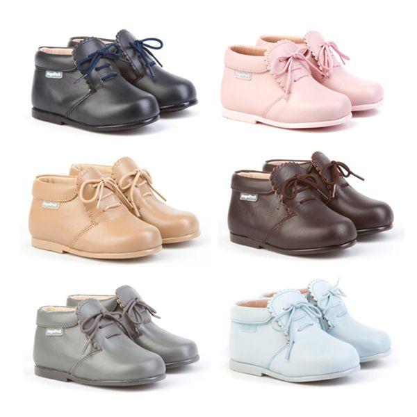 1e0f5358 Angelitos Shoes. Botitas para niños y niñas, cofeccionado en piel de ...