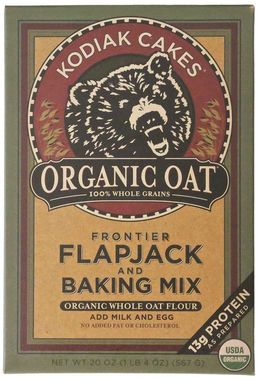 Kodiak cakes organic oat flapjack and baking mix 20 ounce