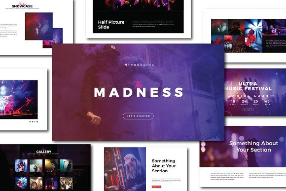 Madness powerpoint template by dirtytemp studio on creativemarket madness powerpoint template by dirtytemp studio on creativemarket toneelgroepblik Choice Image