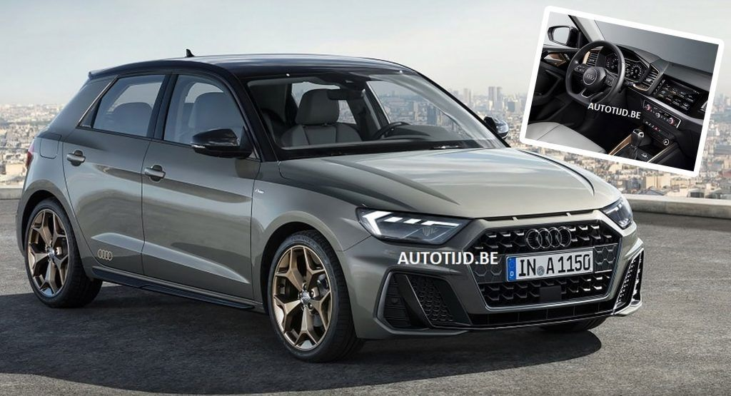 2019 Audi A1 First Official Images Of New Plush Hatch Automobile