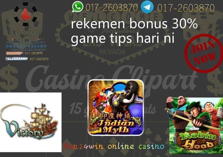 Fun 24Win online casino Telegram link tekan di bawah Whatsapp : 017-2603870 Telegram :…