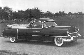 Flower Car   1954 CADILLAC Flower Car