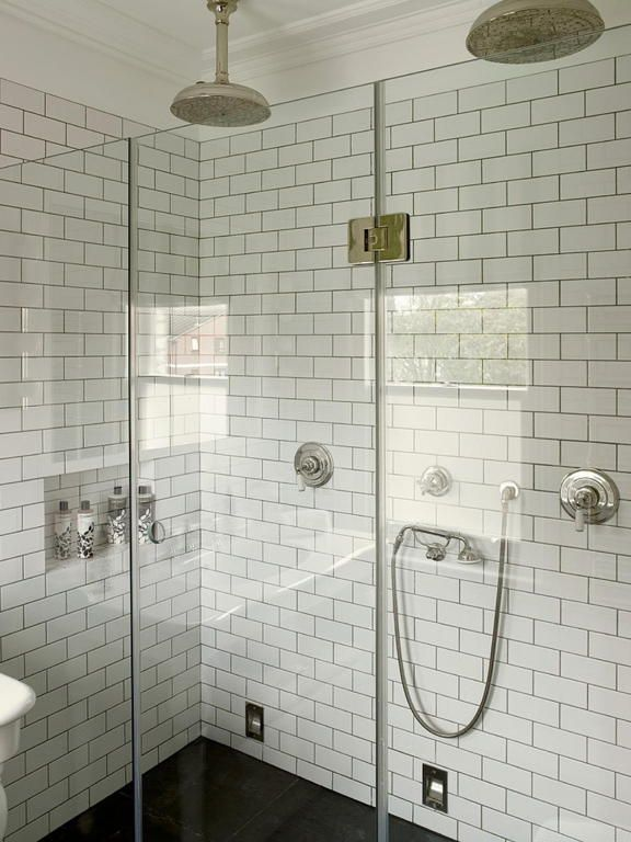Bathroom:Marvelous Small Shower Room Ideas With White Bricket ...